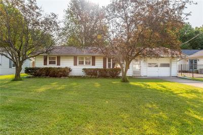 North Ridgeville Single Family Home For Sale: 5627 Cornell Boulevard