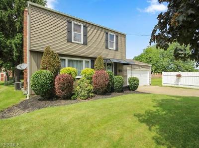 Boardman OH Single Family Home For Sale: $119,900