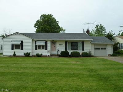 Lorain Single Family Home Active Under Contract: 2167 Cleveland Boulevard