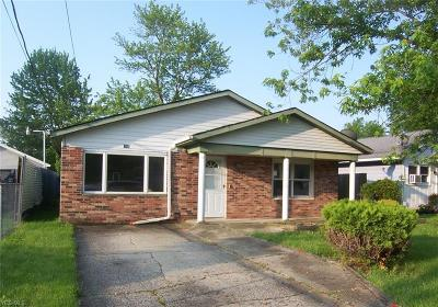 Elyria Single Family Home Active Under Contract: 740 W 18th Street