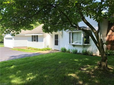 Chagrin Falls Single Family Home For Sale: 16471 Haskins Road