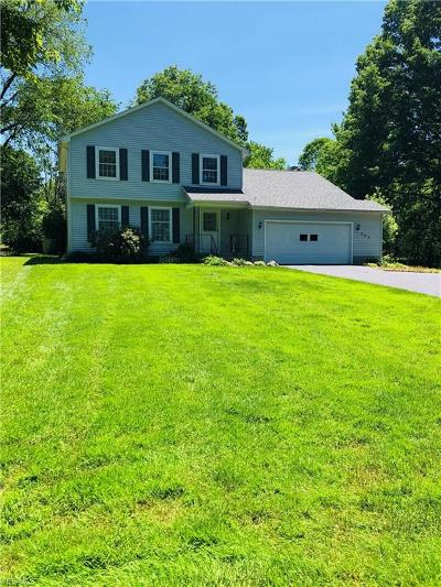 Boardman OH Single Family Home For Sale: $189,900