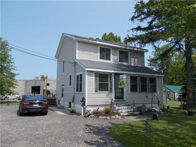Ashtabula OH Single Family Home For Sale: $82,500
