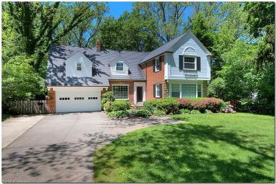 Rocky River Single Family Home For Sale: 2830 Wagar Road