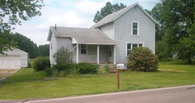 Lordstown Single Family Home Active Under Contract: 5188 Palmyra Road