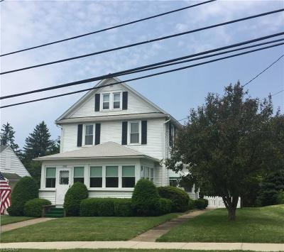 East Palestine Single Family Home Active Under Contract: 190 W Main Street