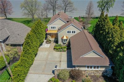 Cleveland Single Family Home Active Under Contract: 10530 Edgewater Drive