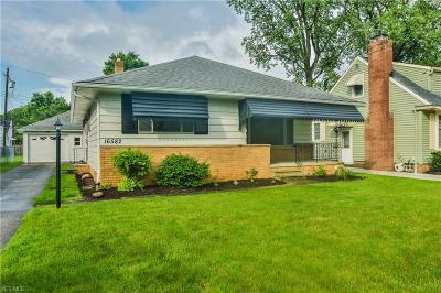 Middleburg Heights Single Family Home For Sale: 16582 Brinbourne Avenue