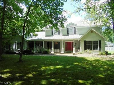 Chagrin Falls Single Family Home Active Under Contract: 16566 Lucky Bell Lane