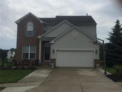 North Ridgeville Single Family Home Active Under Contract: 8878 Jordan Court
