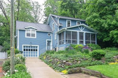 Chagrin Falls Single Family Home For Sale: 61 E Cottage Street