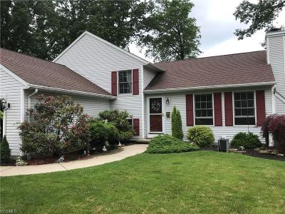 Avon Lake Single Family Home Active Under Contract: 166 Moreland Drive