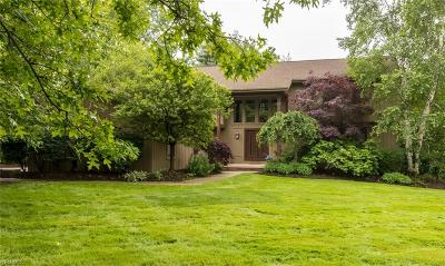Pepper Pike Single Family Home Active Under Contract: 2446 Cedarwood Road