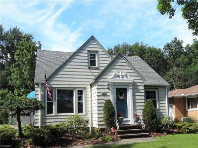 Parma Heights Single Family Home Active Under Contract: 9416 Stonington Road