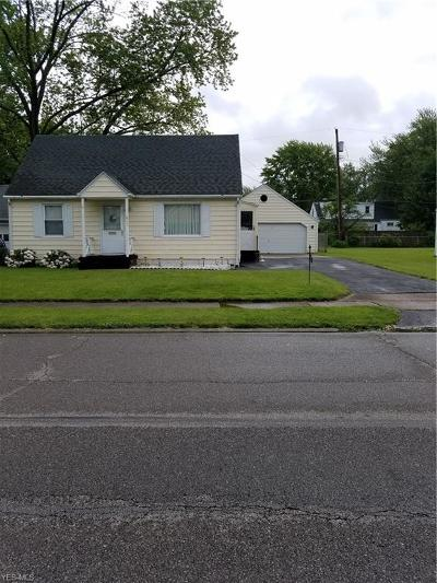 Elyria Single Family Home For Sale: 211 Beebe Avenue