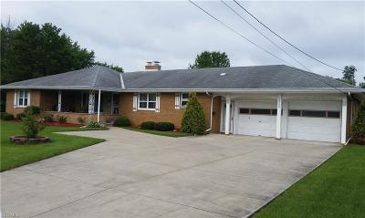 Elyria Single Family Home Active Under Contract: 1332 Abbe Road