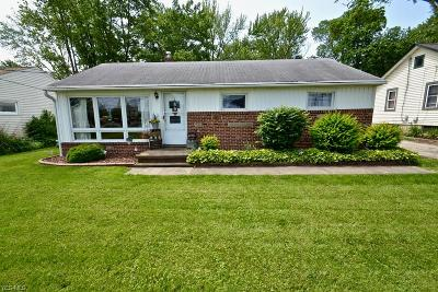 Strongsville Single Family Home For Sale: 18519 Royalton Road