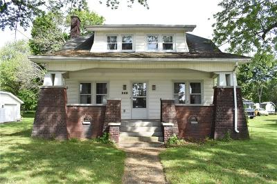Conneaut Single Family Home For Sale: 340 W Main Road