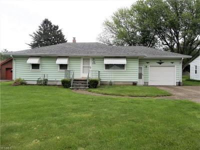 Lorain County Single Family Home Active Under Contract: 5585 Oberlin Road