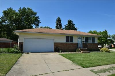 Cleveland Single Family Home For Sale: 4704 W 198th Street