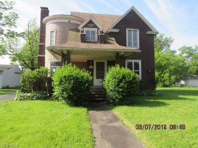 Lorain Single Family Home For Sale: 1013 W 8th Street