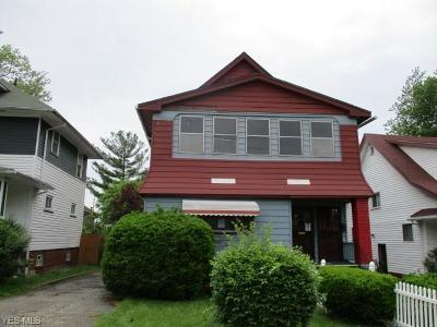 Cleveland Multi Family Home Active Under Contract: 3310 E 119th Street