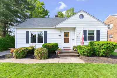 Fairview Park Single Family Home Active Under Contract: 21484 Eaton Road