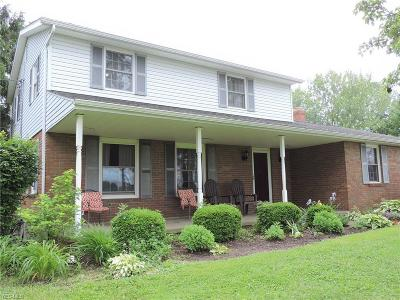 Single Family Home For Sale: 7310 Nimishillen Church Street