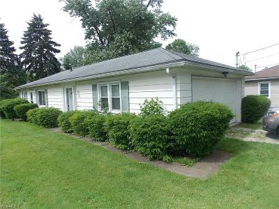 Wadsworth Single Family Home For Sale: 452 Durling Drive