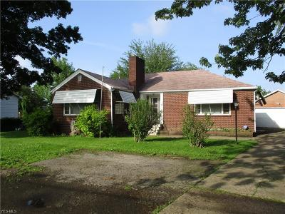 Elyria Single Family Home For Sale: 6121 Elyria Avenue