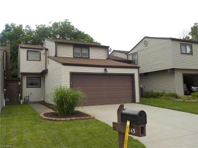 Mentor Condo/Townhouse For Sale: 7143 Rippling Brook Lane