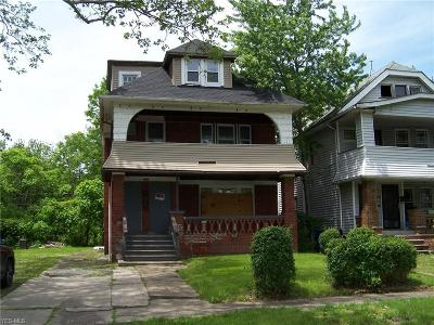 Cleveland Multi Family Home For Sale: 3284 E 132nd Street