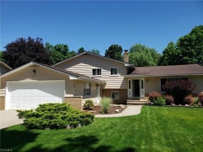 Strongsville Single Family Home Active Under Contract: 18118 Bonnie Lane