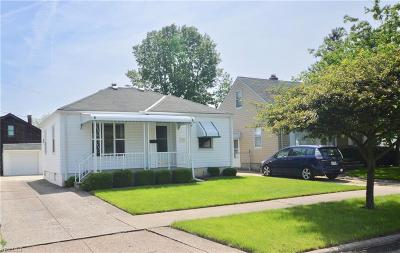 Single Family Home Active Under Contract: 4049 W 143 Street