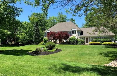 Solon Single Family Home Active Under Contract: 6078 Chagrin Highlands Drive
