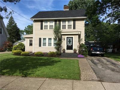 Painesville Single Family Home Active Under Contract: 228 Ardmore Boulevard