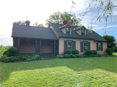 Olmsted Township Single Family Home Active Under Contract: 7280 Lewis Road