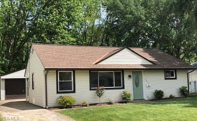 Lorain County Single Family Home Active Under Contract: 4355 Belle Avenue