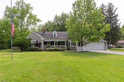 North Ridgeville Single Family Home For Sale: 6715 Case Road