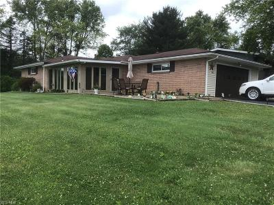 Columbiana County Single Family Home For Sale: 400 Taylor Road
