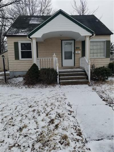 Lorain Single Family Home For Sale: 1323 W 20th Street