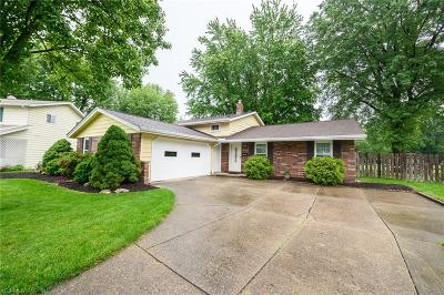 North Olmsted Single Family Home Active Under Contract: 26862 Kingston Circle