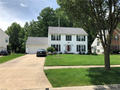 Olmsted Falls Single Family Home Active Under Contract: 9150 Millstream Circle