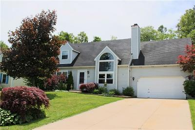 Twinsburg Single Family Home Active Under Contract: 1242 Waldo Way