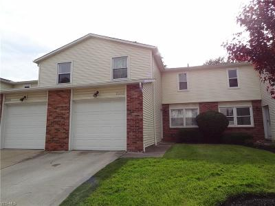 Mentor Condo/Townhouse Active Under Contract: 8252 Lancaster Drive