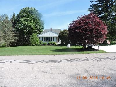 Ashtabula Single Family Home Active Under Contract: 1219 Van Winkle Circle