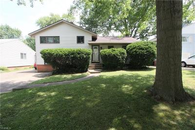 Single Family Home For Sale: 5825 Doxmere Drive