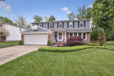 Parma Heights Single Family Home Active Under Contract: 9617 Stoney Creek Lane