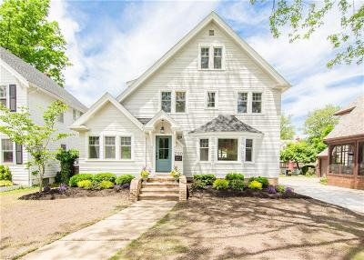 Rocky River Single Family Home For Sale: 290 Argyle Road
