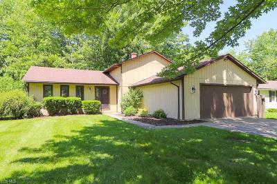 North Olmsted Single Family Home Active Under Contract: 6868 Stearns Road